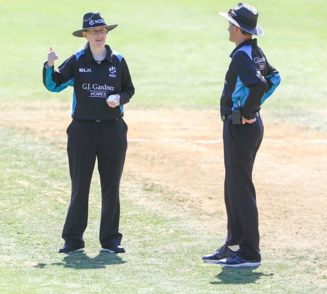 Kim Cotton – Cricket Umpire for Women's World Cup